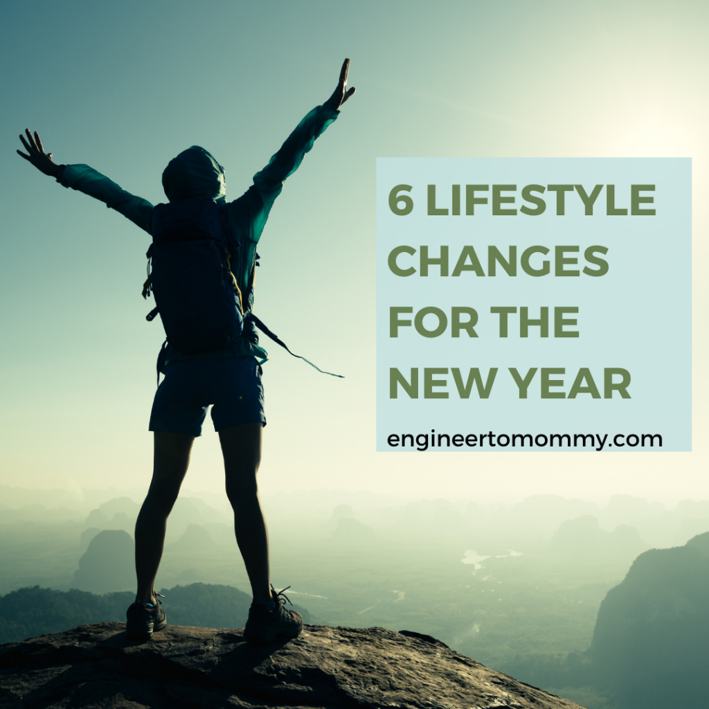 6 healthy lifestyle changes for the new year