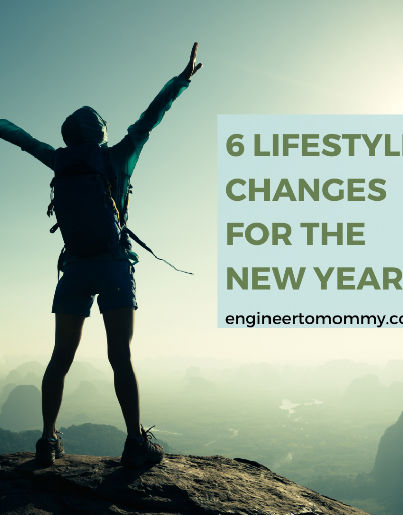 6 healthy lifestyles for the new year